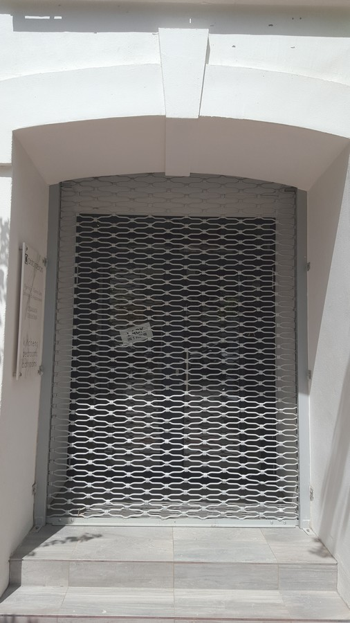 Grille door